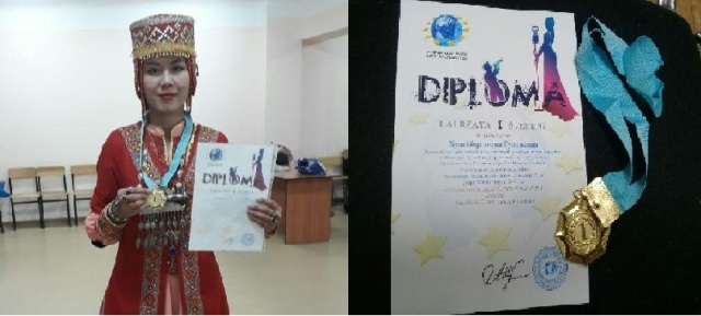 .jpg - A student of the institute became a winner at the international festival held in Alma-Ata