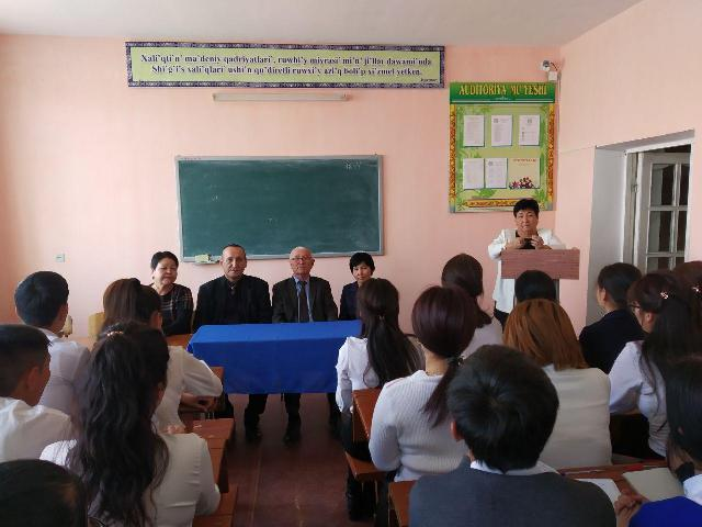 .Ах3 - A literary party devoted to the 90-th anniversary of the famous scholar and critic S.Akhmetov was held at the Philological faculty of the institute
