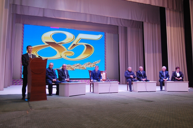 DSC 8217 - There was held the Republican conference devoted to the 85-th jubilee of Academician Jumanazar Bazarbaev