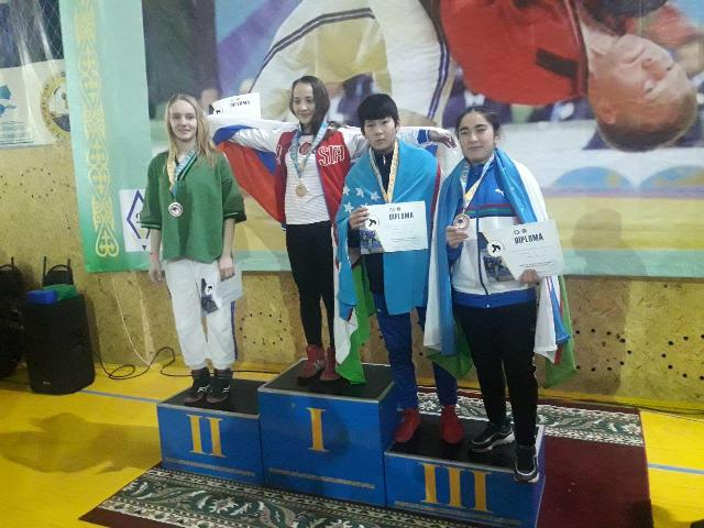 1 - Good news!  A student of the Faculty of Physical culture became the winner of  the bronze medal at the World championship