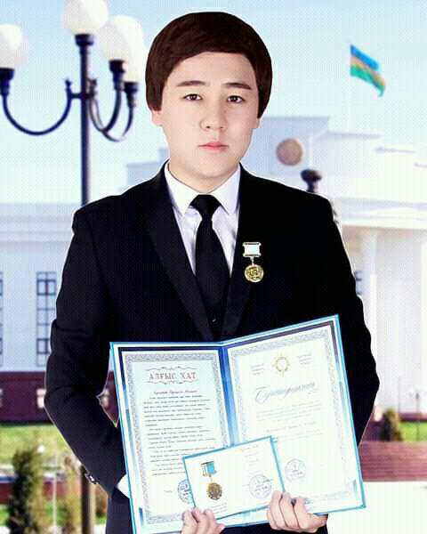 .jpg - A student of the institute was awarded the medal of the Republic of Kazakhstan