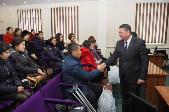 DSC 9130 - В институте были вручены подарки в честь «Международного дня защиты инвалидов»