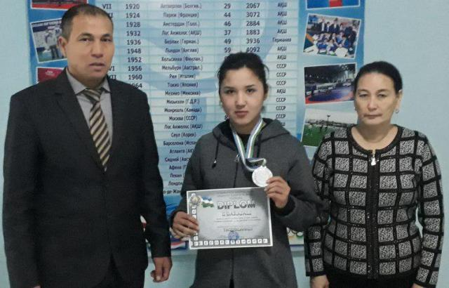 %D0%94%D0%B5%D0%BD%D0%B51 - A student of the Faculty of Physical culture became the winner at the championship of Uzbekistan in boxing