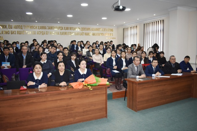 DSC 1142 1 - After exchanging  experience at schools in South Korea, a teacher gave a master-class to the students of Philological faculty