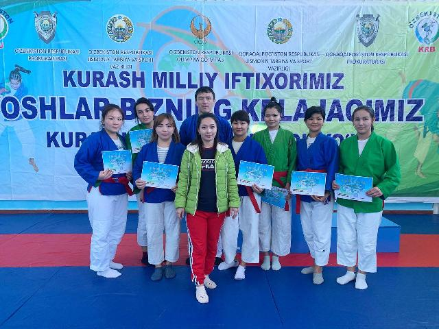 1 - The students of the institute achieved success at the stage of the  competition  «Universiad-2019»held in Karakalpakstan