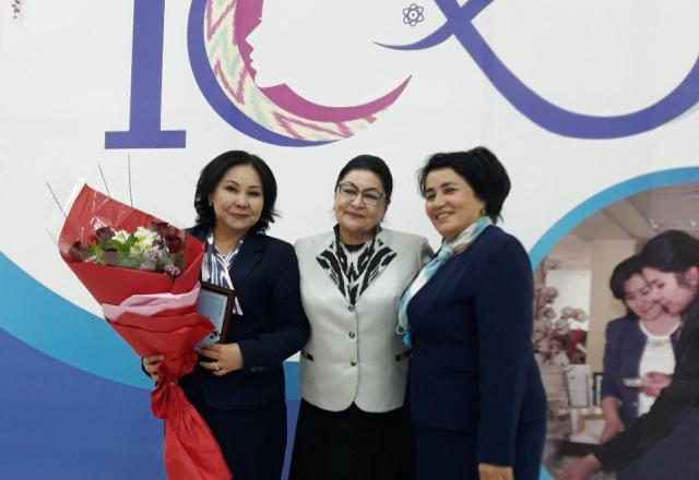 %D0%A8%D0%B0%D1%85%D0%BB%D0%BE2 - The project of  the institute's teacher took place at the contest «The best 100 innovative projects of women and girls of Uzbekistan»