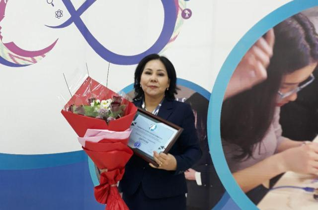3 - The project of  the institute's teacher took place at the contest «The best 100 innovative projects of women and girls of Uzbekistan»