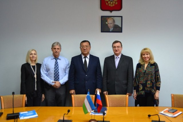 DSC 0247 - Joint faculties with the higher educational establishments of Russia will be opened at the institute