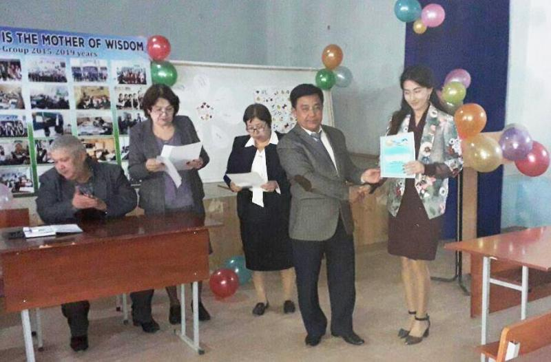 1 1 - There was held a conference on the results of school-based teaching pracrice at the faculty of foreign languages