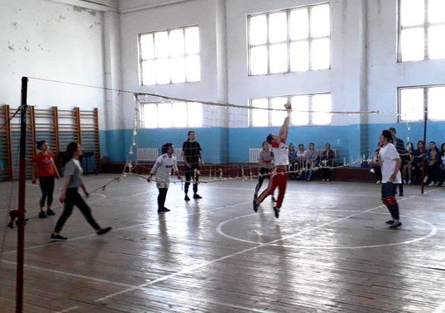 1 13 - «Спорт айлығы»: Дене мәденияты факультетинде волейбол бойынша жарыс өткерилди