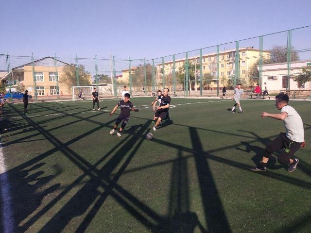 1 3 - Физика-мийнет факультетинде мини футбол бойынша жарыс өткерилди