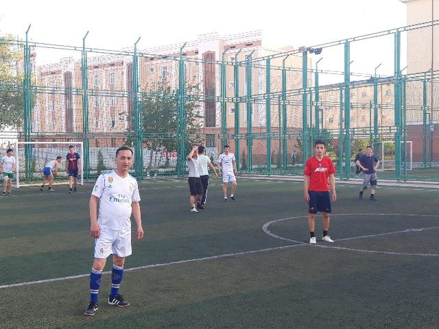 1 7 - «Спорт айлығы»: Шет тиллери факультетинде мини футбол бойынша жарыс өткерилди