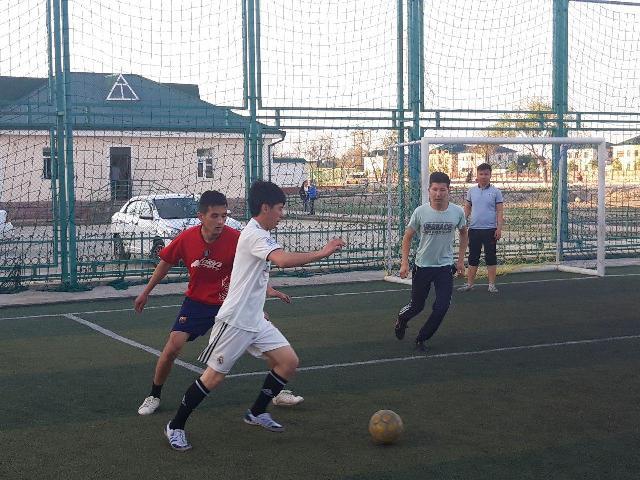 2 5 - «Спорт айлығы»: Шет тиллери факультетинде мини футбол бойынша жарыс өткерилди