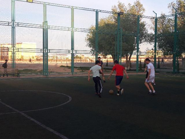 3 4 - «Спорт айлығы»: Шет тиллери факультетинде мини футбол бойынша жарыс өткерилди