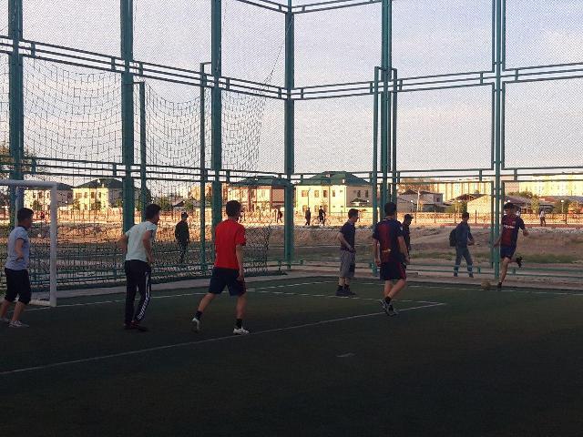 4 1 - «Спорт айлығы»: Шет тиллери факультетинде мини футбол бойынша жарыс өткерилди
