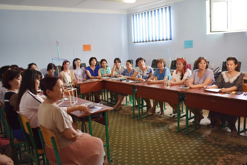 DSC 0162 - There was held a seminar-training  by the professors of Kirgizstan in Nukus State Pedagogical Institute named after Ajiniyaz