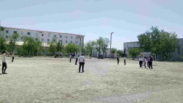 photo 2019 05 14 14 17 21 - #Спорт_айлығы: Шет тиллери факультетинде миллий спорт ойыны – қашарман топ бойынша жарыс өткерилди