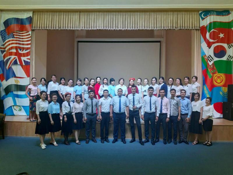photo 2019 05 16 14 29 29 - It was celebrated 90th  anniversaries of Heroes of Uzbekistan Ibrayim Yusupov and Tolepbergen Kayipbergenov in Tashkent State Pedagogical University by our students