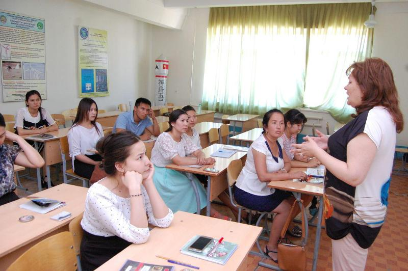 photo 2019 05 21 16 14 48 2 - Professor-teachers of  Kuban State University of Russian Federation  are holding classes at Nukus State Pedagogical Institute
