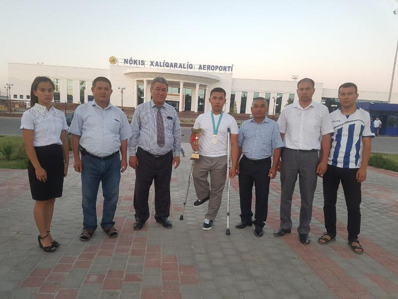 1 5 - Институтымыз студенти Әбдибек Уснатдинов Қазақстанның Шымкент қаласында өткерилген жарыста гүмис медаль жеңимпазы болды