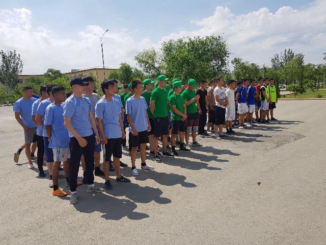 2 2 - Институтымыз командасы «Мега спорт» жарысының Қарақалпақстан басқышында 2-орынды ийеледи