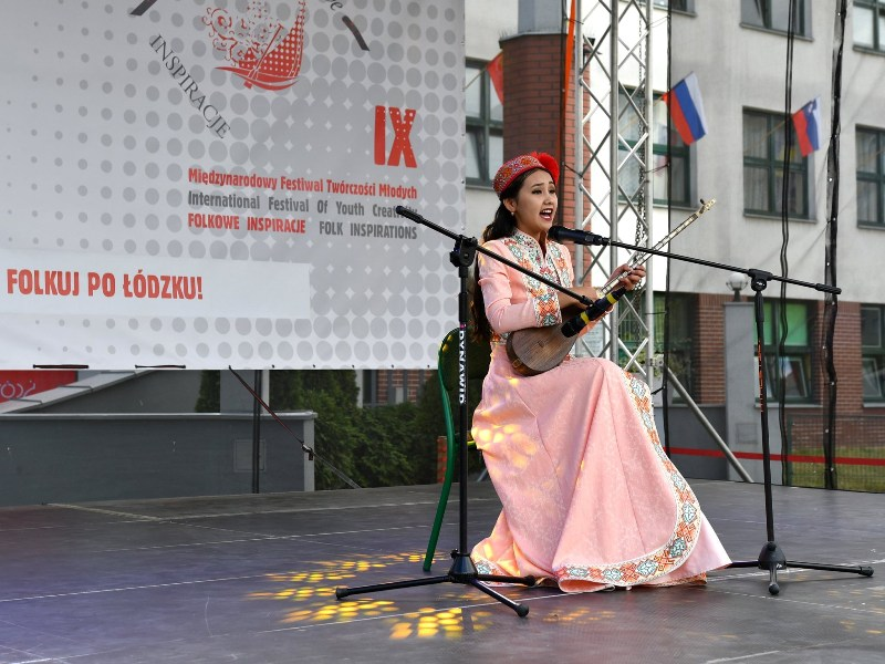 7 - A student of Nukus State Pedagogical Institute Dinara Nuratdinova won the Grand Prix at the international festival in Poland