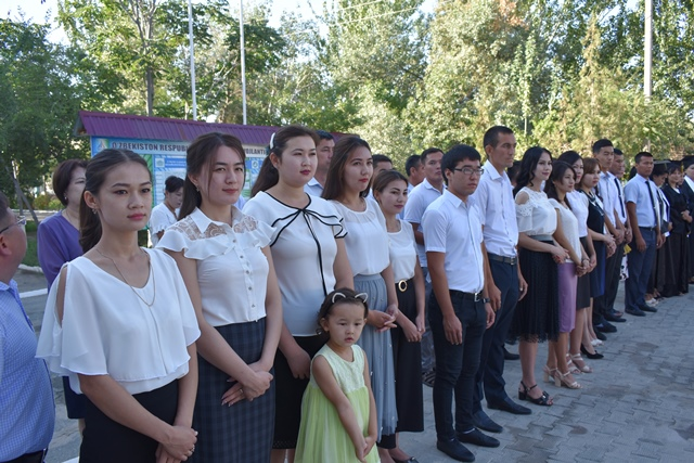 DSC 0013 - «You are the greatest place of knowledge»: Awarding ceremony at Nukus State Pedagogical Institute