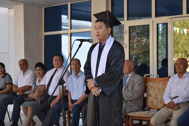 DSC 0085 - «You are the greatest place of knowledge»: Awarding ceremony at Nukus State Pedagogical Institute