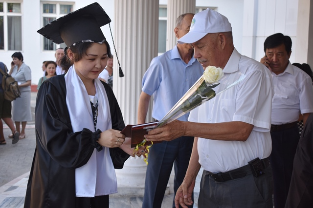 DSC 0157 - «You are the greatest place of knowledge»: Awarding ceremony at Nukus State Pedagogical Institute