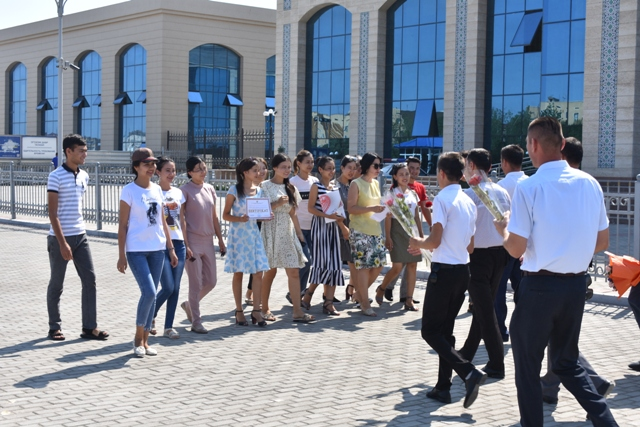 DSC 0476 - The students of Nukus State Pedagogical Institute had a second place on the republican stage of the competition «You are the only, my homeland!»