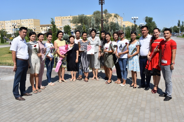 DSC 0529 - The students of Nukus State Pedagogical Institute had a second place on the republican stage of the competition «You are the only, my homeland!»