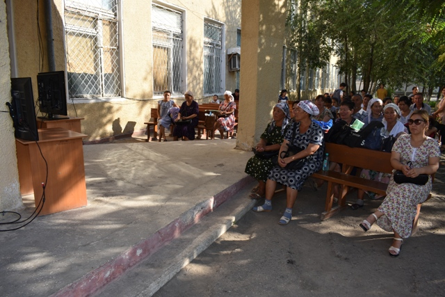 DSC 0614 - Professional creative examinations have started in Nukus State Pedagogical Institute