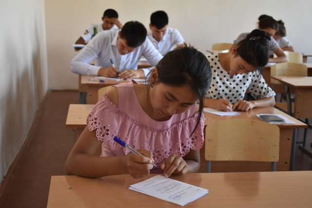 DSC 0615 - Professional creative examinations have started in Nukus State Pedagogical Institute