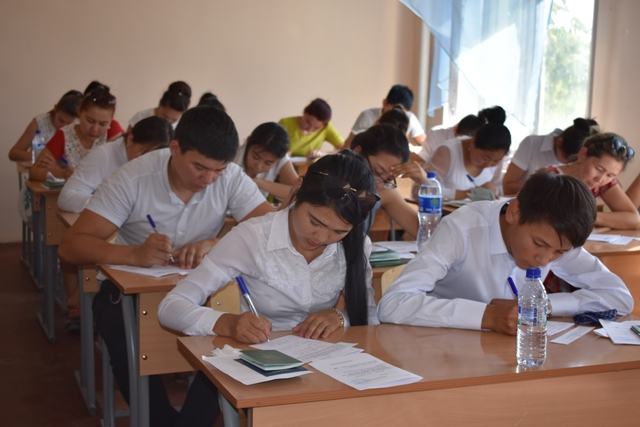 DSC 0630 - Professional creative examinations have started in Nukus State Pedagogical Institute
