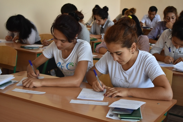 DSC 0645 - Professional creative examinations have started in Nukus State Pedagogical Institute