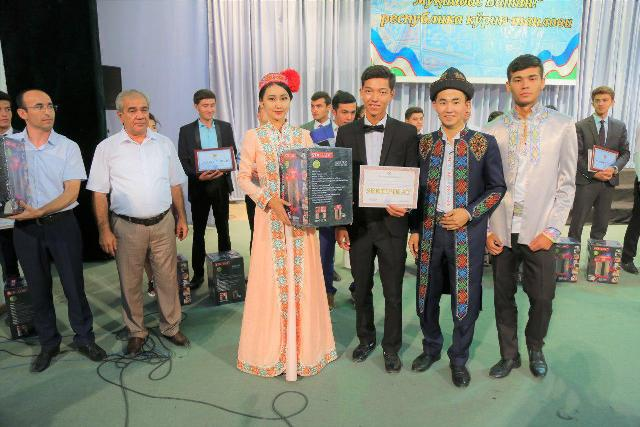 photo 2019 07 09 18 04 44 - The students of Nukus State Pedagogical Institute had a second place on the republican stage of the competition «You are the only, my homeland!»