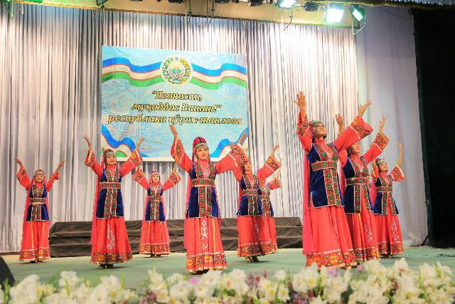 photo 2019 07 09 18 04 52 - The students of Nukus State Pedagogical Institute had a second place on the republican stage of the competition «You are the only, my homeland!»