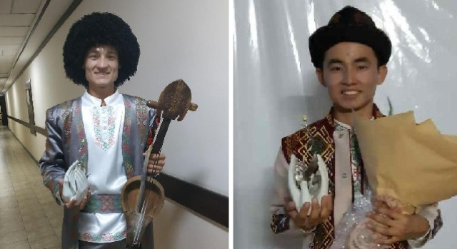 ".jpg - Two students of Nukus State Pedagogical Institute became the winners of the prize ""Nihol"""