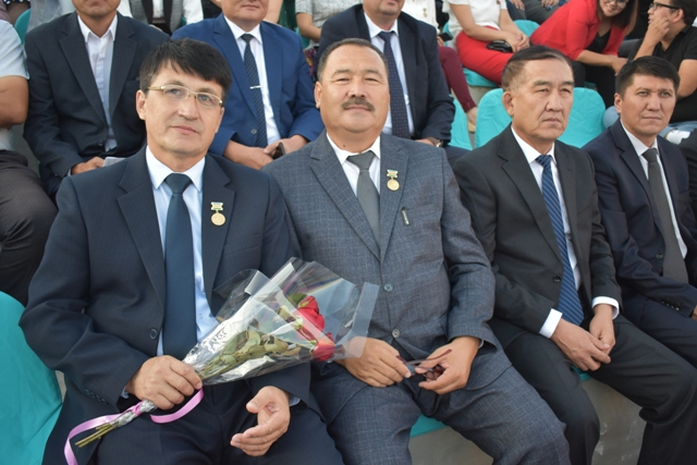 DSC 0612 - Two teachers of Nukus State Pedagogical Institute were awarded with honorary titles on the eve of Independence Day