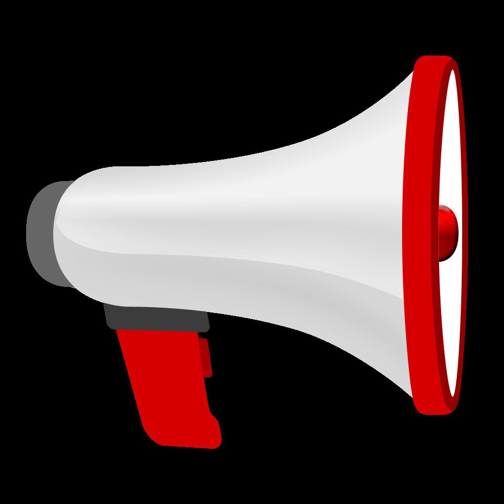 psd megaphone icon - Daǵaza