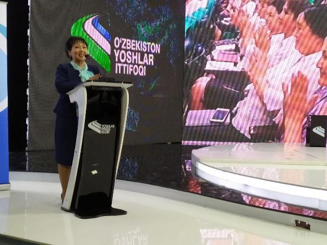 1 9 - Первичная организация женщин института признана самой образцовой в масштабе Узбекистана