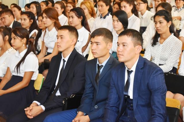 DSC 1091 - В институте новый учебный год начался «Уроками независимости»