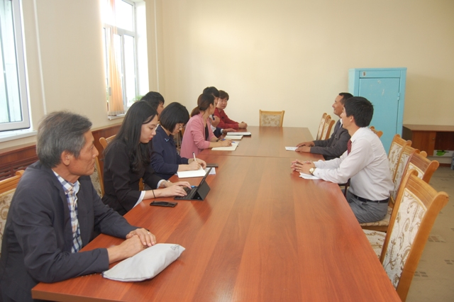 """DSC 3681 - Representatives from Korea International Cooperation Agency """"KOICA"""" are at Nukus State Pedagogical Institute"""