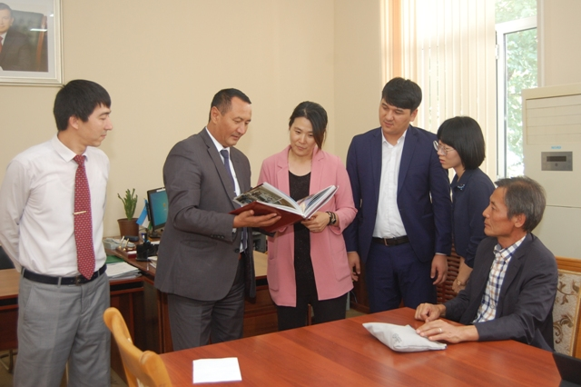 "DSC 3692 - Representatives from Korea International Cooperation Agency ""KOICA"" are at Nukus State Pedagogical Institute"