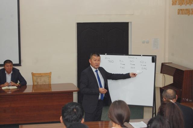 DSC 3876 - Ректор института дал широкие разъяснения студентам по учебе «со стипендией» и «без стипендии»
