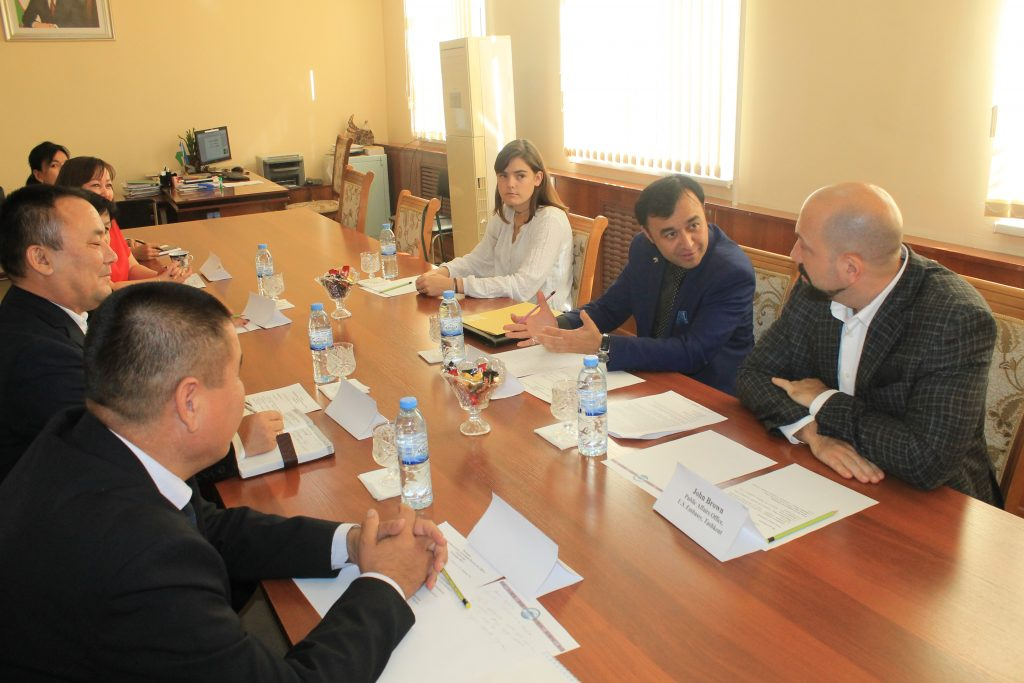 6 1024x683 - Nukus State Pedagogical Institute will take an active part in educational programs  of the USA