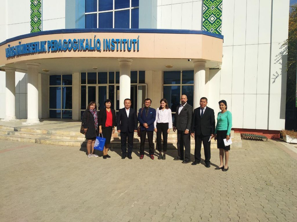 photo 2019 10 29 15 21 22 2 1024x768 - Nukus State Pedagogical Institute will take an active part in educational programs  of the USA