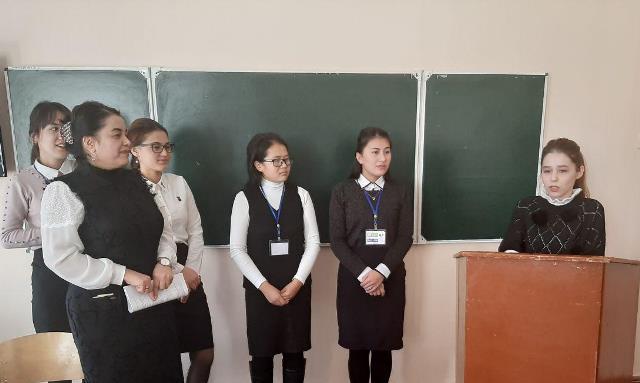 1 31 - Turkiy tillar fakultetida «Kitobxon minbari» diskus davra suhbati tashkil qilindi