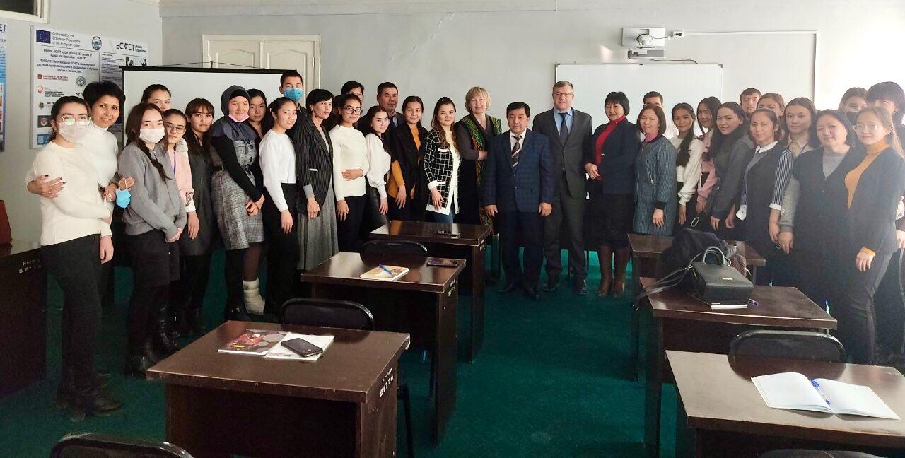 1 12 - Встреча в Нукусском педагогическом институте