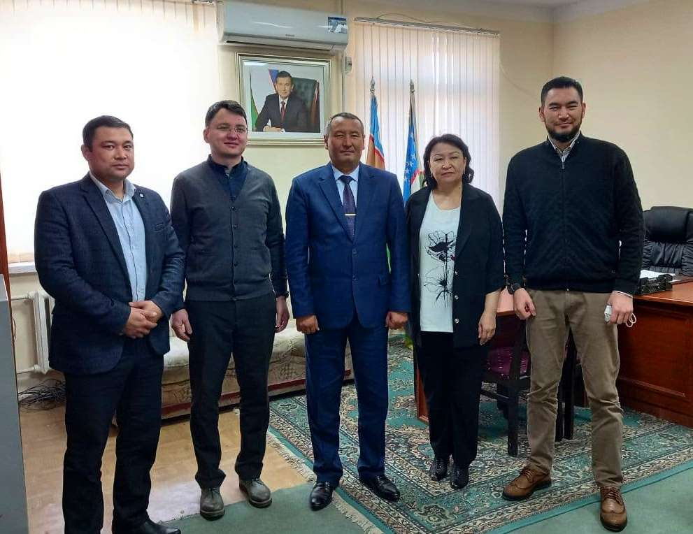 2 3 - A meeting with representatives of American Council for International Education